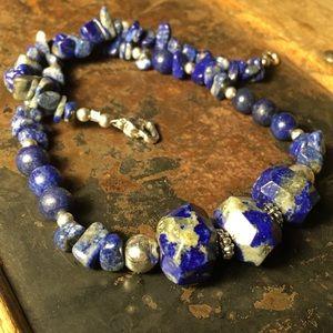 Jewelry - ❤️SALE! High quality lapis lazuli necklace